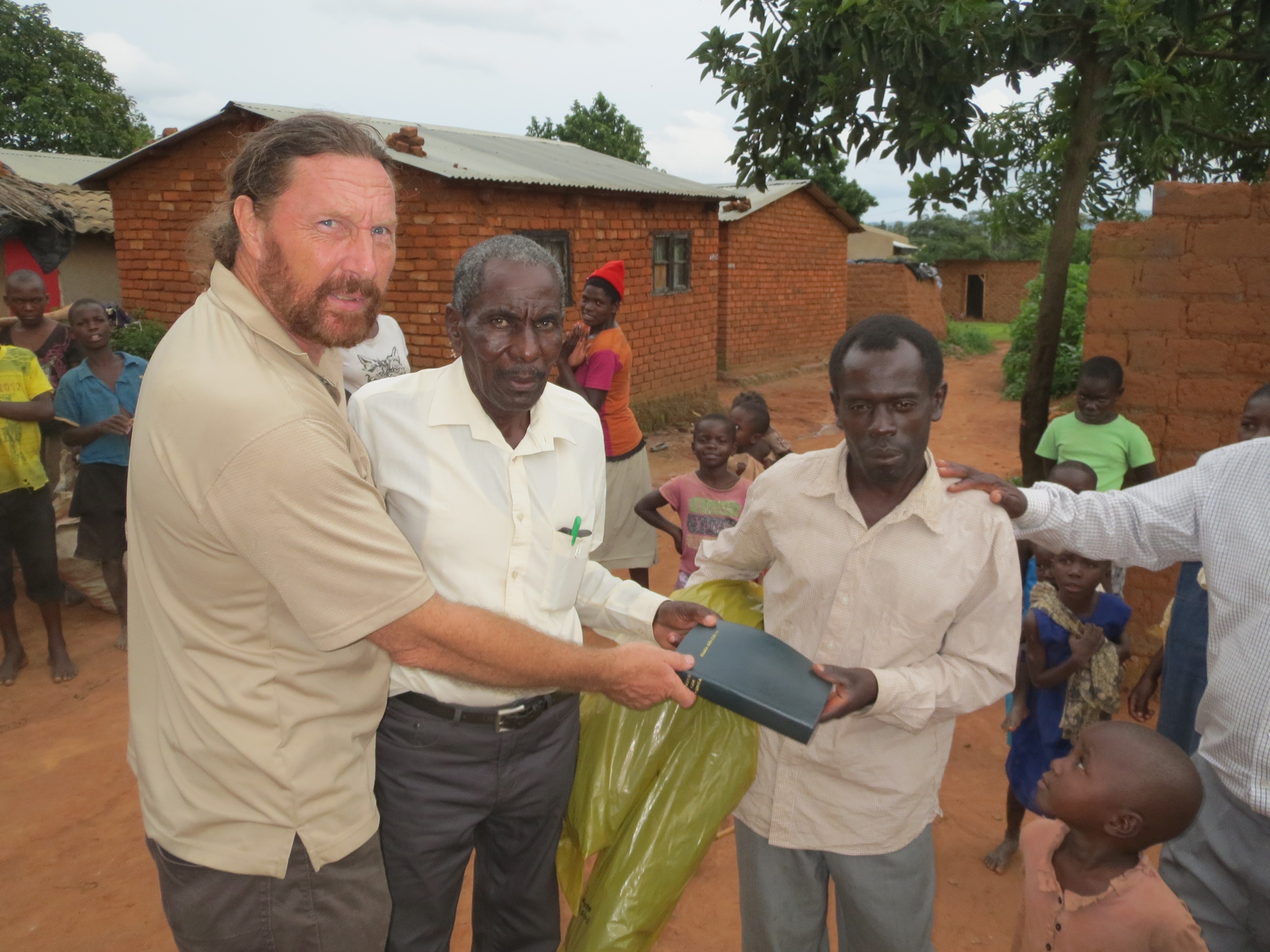 bible-and-plastic-sheet-distribution