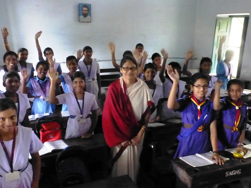 students-with-teacher-at-the-sanat-nalini-girls-high-school